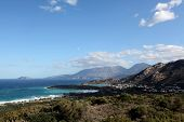 Постер, плакат: Stormy Day In Mirabello Bay Northern Crete