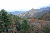 stock photo of seoraksan  - Seoraksan National Park in autumn South Korea - JPG