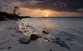 picture of glorious  - Glorious summer sunset over Botany Bay Sydney Australia - JPG