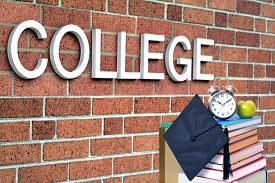 image of tassels  - concept of college education - JPG