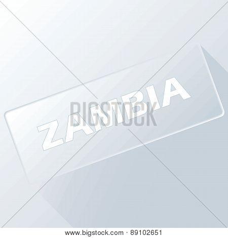 Zambia unique button