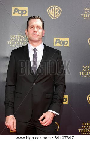 LOS ANGELES - APR 26:  Frank Valentini at the 2015 Daytime Emmy Awards at the Warner Brothers Studio Lot on April 26, 2015 in Burbank, CA