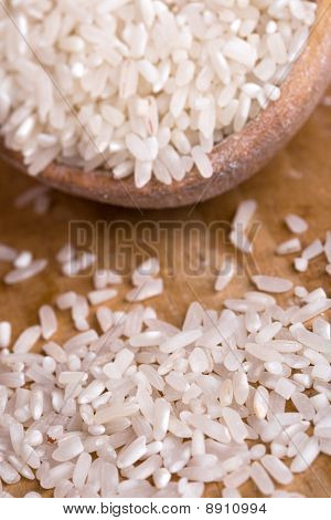 Uncooked White Rice