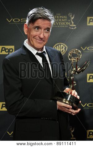 BURBANK - APR 26: Craig Ferguson at the 42nd Daytime Emmy Awards Gala at Warner Bros. Studio on April 26, 2015 in Burbank, California