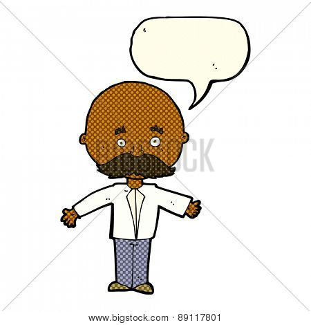 cartoon person speaking