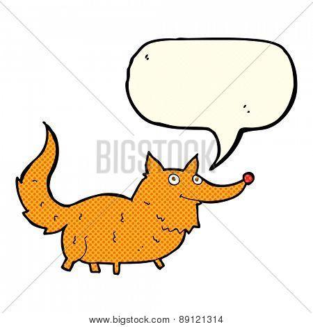cartoon fat fox