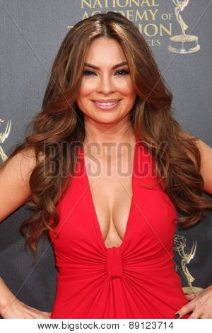 LOS ANGELES - APR 26:  Lilly Melgar at the 2015 Daytime Emmy Awards at the Warner Brothers Studio Lot on April 26, 2015 in Burbank, CA