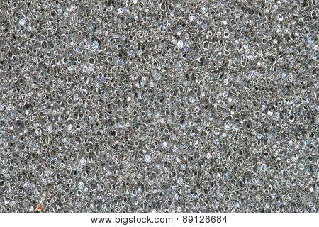 Texture Of Gray Sponge