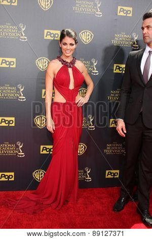 LOS ANGELES - APR 26:  Lindsay Hartley at the 2015 Daytime Emmy Awards at the Warner Brothers Studio Lot on April 26, 2015 in Burbank, CA
