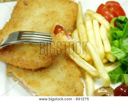 Piece Of Cordon Bleu
