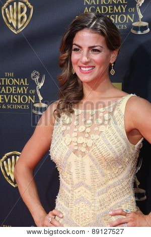 LOS ANGELES - APR 26:  Renee Marino at the 2015 Daytime Emmy Awards at the Warner Brothers Studio Lot on April 26, 2015 in Burbank, CA