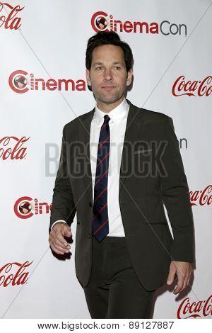 LAS VEGAS - APR 23:  Paul Rudd at the CinemaCon Big Screen Achievement Awards at the Caesars Palace on April 23, 2015 in Las Vegas, NV