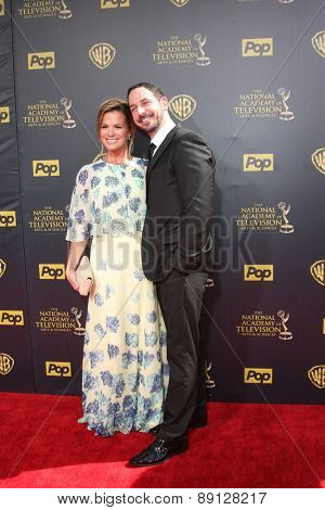 LOS ANGELES - APR 26:  Melissa Claire Egan at the 2015 Daytime Emmy Awards at the Warner Brothers Studio Lot on April 26, 2015 in Burbank, CA