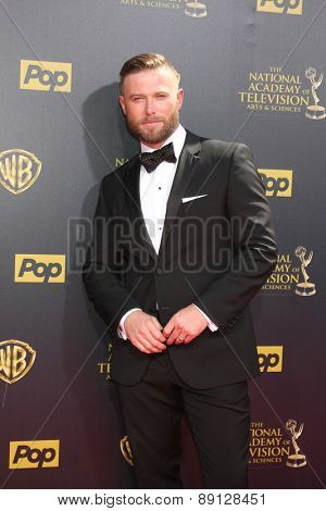 LOS ANGELES - APR 26:  Jacob Young at the 2015 Daytime Emmy Awards at the Warner Brothers Studio Lot on April 26, 2015 in Burbank, CA