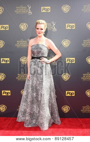 LOS ANGELES - APR 26:  Martha Madison at the 2015 Daytime Emmy Awards at the Warner Brothers Studio Lot on April 26, 2015 in Burbank, CA