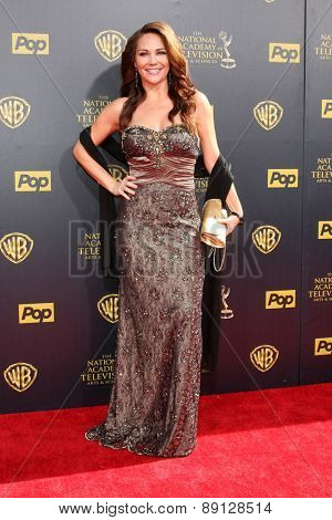 LOS ANGELES - APR 26:  Jade Harlow at the 2015 Daytime Emmy Awards at the Warner Brothers Studio Lot on April 26, 2015 in Burbank, CA