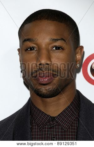 LAS VEGAS - APR 23:  Michael B. Jordan at the CinemaCon Big Screen Achievement Awards at the Caesars Palace on April 23, 2015 in Las Vegas, NV
