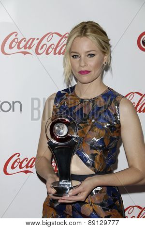 LAS VEGAS - APR 23:  Elizabeth Banks at the CinemaCon Big Screen Achievement Awards at the Caesars Palace on April 23, 2015 in Las Vegas, NV