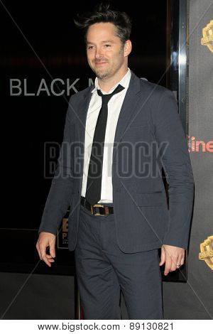 LAS VEGAS - APR 21:  Scott Cooper at the Warner Brothers 2015 Presentation at Cinemacon at the Caesars Palace on April 21, 2015 in Las Vegas, CA