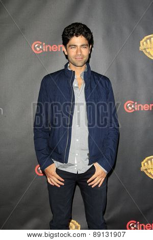 LAS VEGAS - APR 21:  Adrian Grenier at the Warner Brothers 2015 Presentation at Cinemacon at the Caesars Palace on April 21, 2015 in Las Vegas, CA