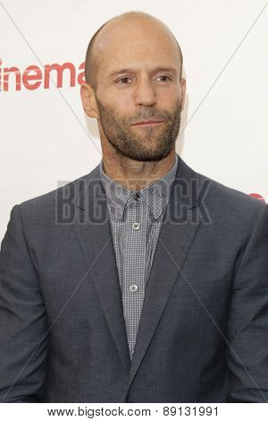 LAS VEGAS - APR 23:  Jason Statham at the Twentieth Century Fox 2015 Presentation at Cinemacon at the Caesars Palace on April 23, 2015 in Las Vegas, CA