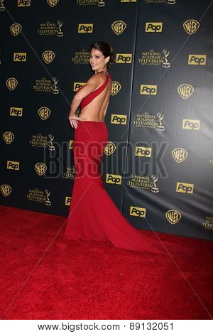 LOS ANGELES - APR 26:  Lindsay Hartley at the 2015 Daytime Emmy Awards at the Warner Brothers Studio Lot on April 26, 2015 in Los Angeles, CA
