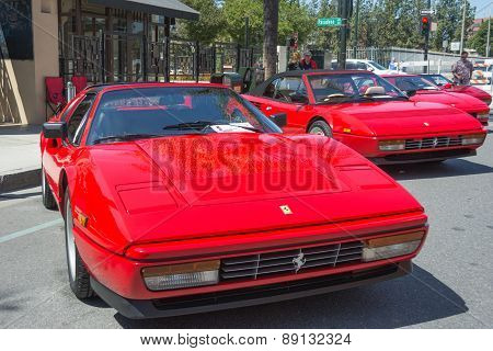 Ferrari Mondial T Cabriolet On Display