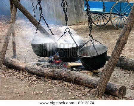 Smoking Cauldrons