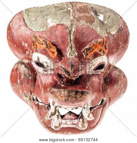 Ancient Malaysian Mask