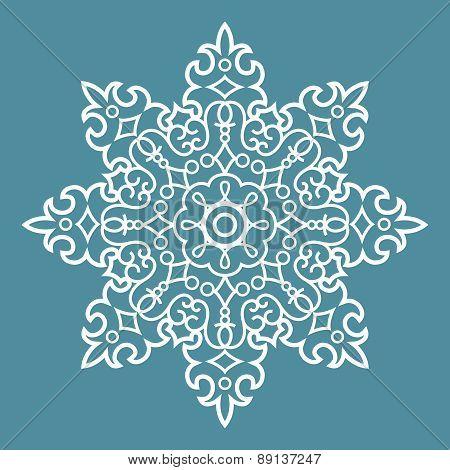 Round Arabesque Pattern