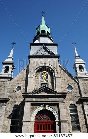 The Chapel Notre Dame De Bon Secours In Montreal