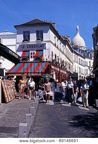 Montmartre district, Paris.