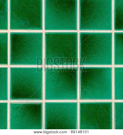 Green Earthenware Tiles