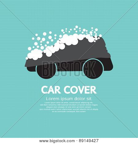 Car Cover With Snow.