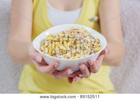 Cereal Muesli Breakfast
