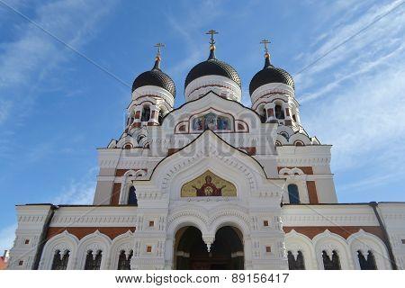 Alexander Nevsky Cathedral, Tallinn.