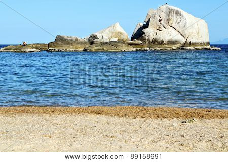 Asia  Kho Tao Coastline Bay Isle   Big  Rocks