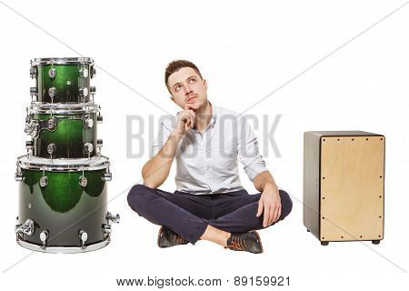 Cajon And Drum