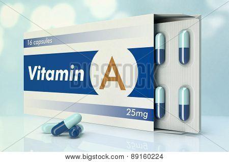 Vitamin Capsules, A