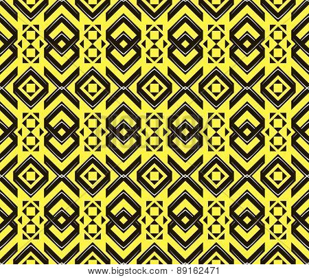 Abstract Seamless Geometric Pattern In Modern Style