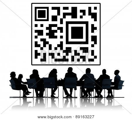 Bar Code Identity Data Buying Marketing Concept