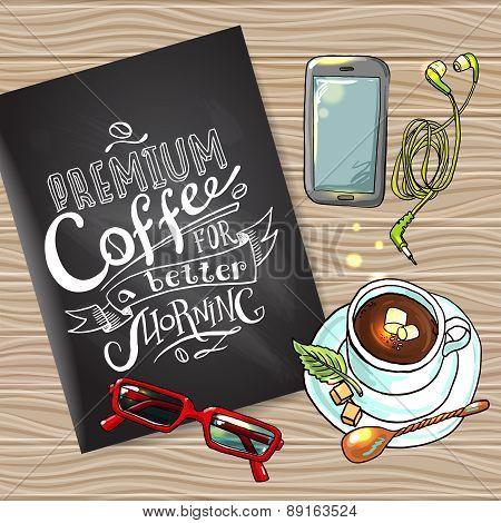 coffee flayer