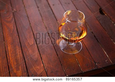 Brandy On Wood