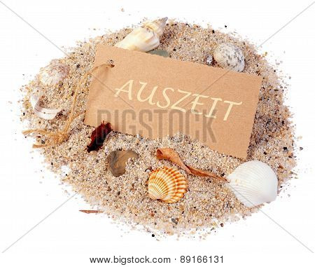 Label On Sand