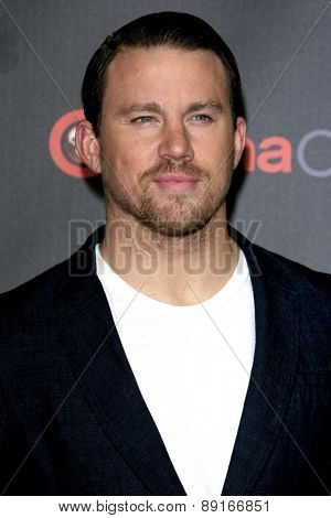 LAS VEGAS - APR 21:  Channing Tatum at the Warner Brothers 2015 Presentation at Cinemacon at the Caesars Palace on April 21, 2015 in Las Vegas, CA