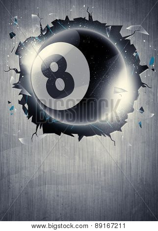 Billiard Sport Background