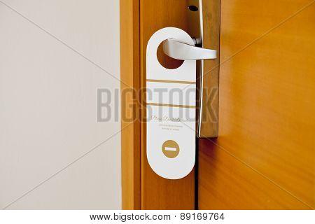 door in hotel