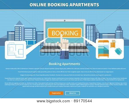 Online Booking Apartments