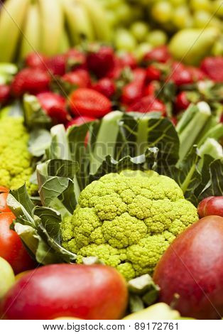 Cauliflower And Other Vegetables