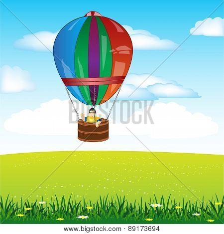 Air Ball On Floor